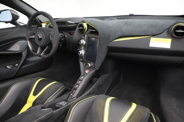 Used 2020 McLaren 720S Spider Convertible for sale Call for price at Alfa Romeo of Westport in Westport CT 06880 24