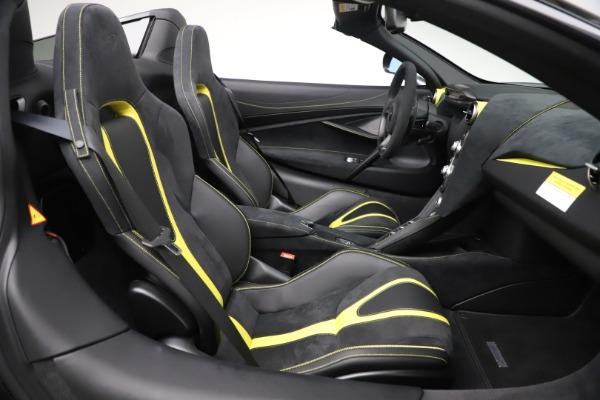 Used 2020 McLaren 720S Spider Convertible for sale Call for price at Alfa Romeo of Westport in Westport CT 06880 25
