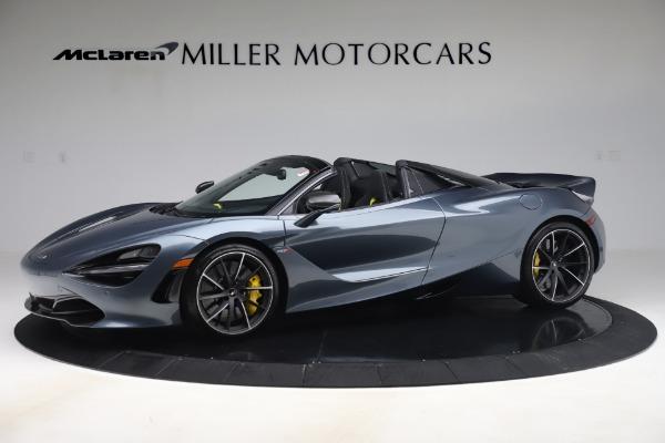 Used 2020 McLaren 720S Spider Convertible for sale Call for price at Alfa Romeo of Westport in Westport CT 06880 1