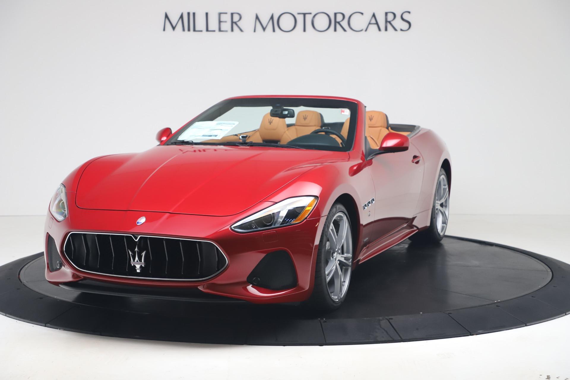 New 2019 Maserati GranTurismo Sport for sale Sold at Alfa Romeo of Westport in Westport CT 06880 1
