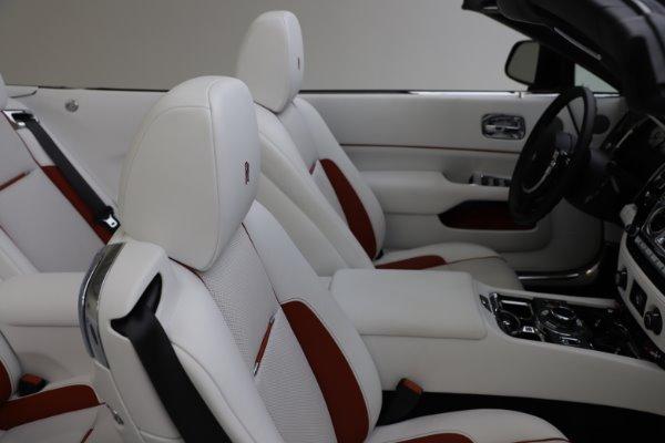 Used 2016 Rolls-Royce Dawn for sale $239,900 at Alfa Romeo of Westport in Westport CT 06880 19