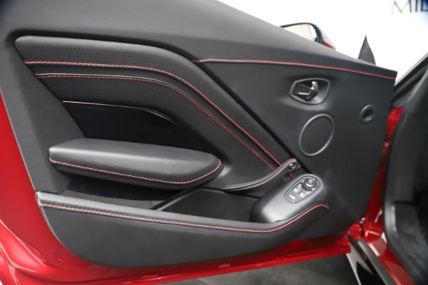 New 2020 Aston Martin Vantage Coupe for sale $195,089 at Alfa Romeo of Westport in Westport CT 06880 17
