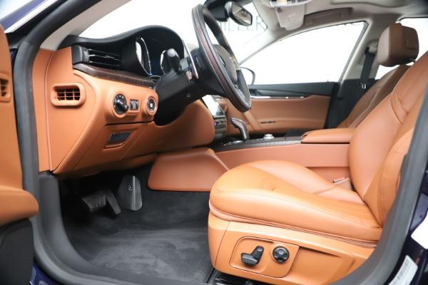 New 2019 Maserati Quattroporte S Q4 for sale $121,065 at Alfa Romeo of Westport in Westport CT 06880 14