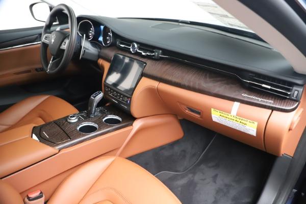 New 2019 Maserati Quattroporte S Q4 for sale $121,065 at Alfa Romeo of Westport in Westport CT 06880 22