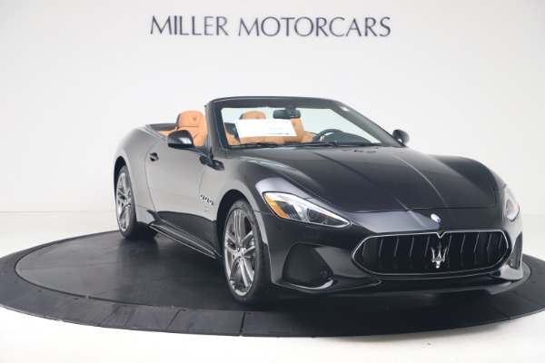New 2019 Maserati GranTurismo Sport Convertible for sale $161,970 at Alfa Romeo of Westport in Westport CT 06880 11