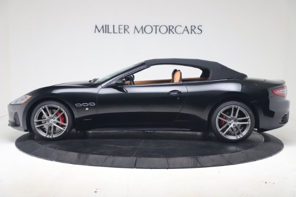 New 2019 Maserati GranTurismo Sport Convertible for sale $161,970 at Alfa Romeo of Westport in Westport CT 06880 14