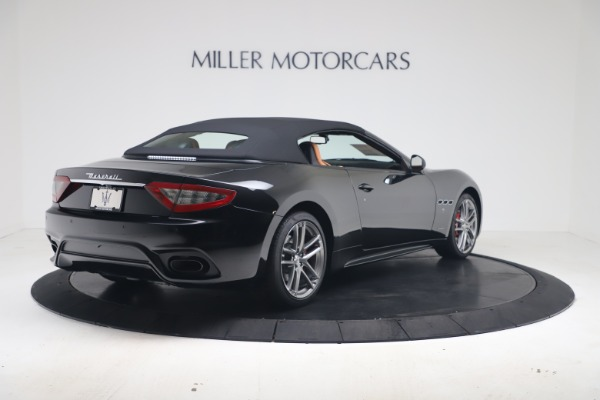 New 2019 Maserati GranTurismo Sport Convertible for sale $161,970 at Alfa Romeo of Westport in Westport CT 06880 16