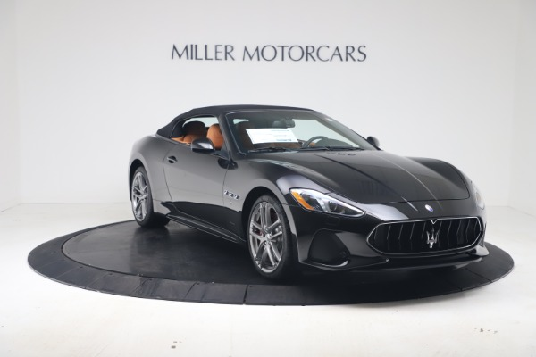 New 2019 Maserati GranTurismo Sport Convertible for sale $161,970 at Alfa Romeo of Westport in Westport CT 06880 18