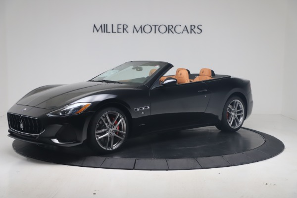 New 2019 Maserati GranTurismo Sport Convertible for sale $161,970 at Alfa Romeo of Westport in Westport CT 06880 2
