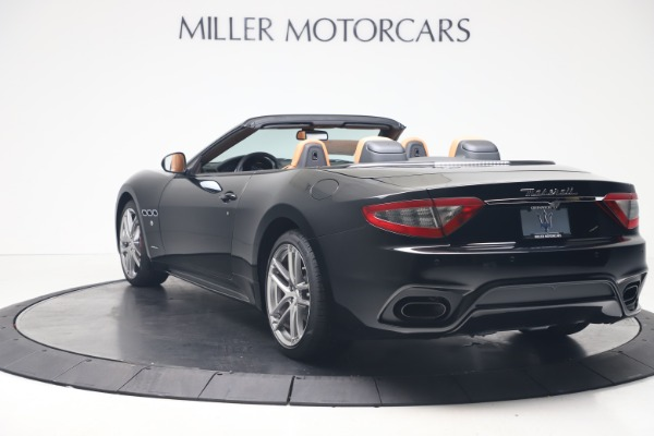 New 2019 Maserati GranTurismo Sport Convertible for sale $161,970 at Alfa Romeo of Westport in Westport CT 06880 5