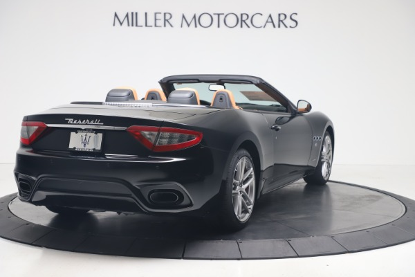 New 2019 Maserati GranTurismo Sport Convertible for sale $161,970 at Alfa Romeo of Westport in Westport CT 06880 7