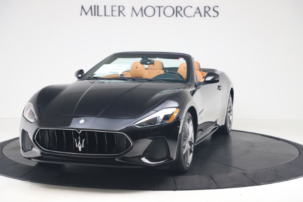 New 2019 Maserati GranTurismo Sport Convertible for sale $161,970 at Alfa Romeo of Westport in Westport CT 06880 1