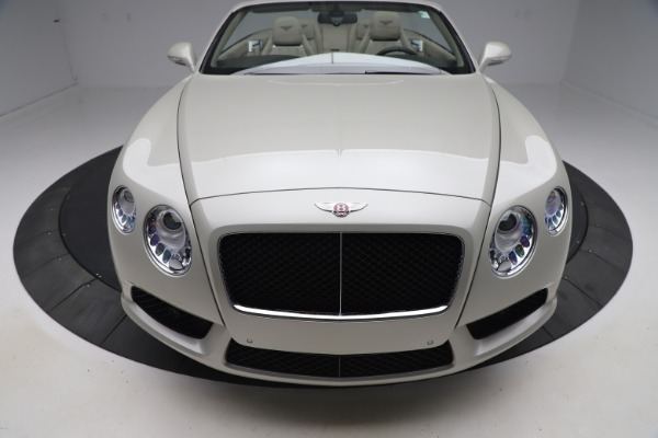 Used 2015 Bentley Continental GTC V8 for sale $114,900 at Alfa Romeo of Westport in Westport CT 06880 20