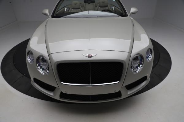 Used 2015 Bentley Continental GTC V8 for sale Sold at Alfa Romeo of Westport in Westport CT 06880 21