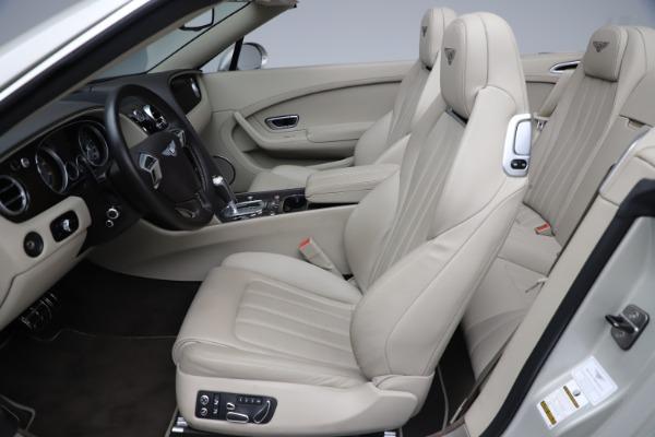 Used 2015 Bentley Continental GTC V8 for sale Sold at Alfa Romeo of Westport in Westport CT 06880 27