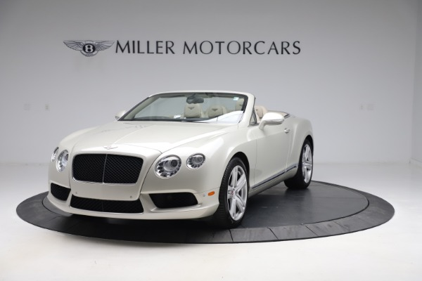 Used 2015 Bentley Continental GTC V8 for sale $114,900 at Alfa Romeo of Westport in Westport CT 06880 1