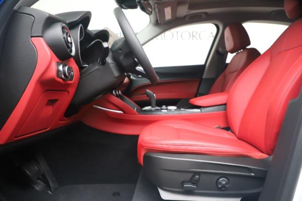 New 2020 Alfa Romeo Stelvio Sport Q4 for sale Call for price at Alfa Romeo of Westport in Westport CT 06880 14