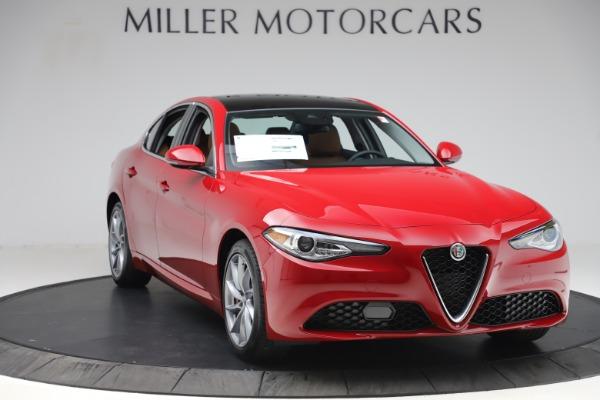 New 2020 Alfa Romeo Giulia Q4 for sale $45,740 at Alfa Romeo of Westport in Westport CT 06880 11
