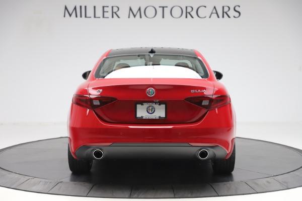 New 2020 Alfa Romeo Giulia Q4 for sale $45,740 at Alfa Romeo of Westport in Westport CT 06880 6