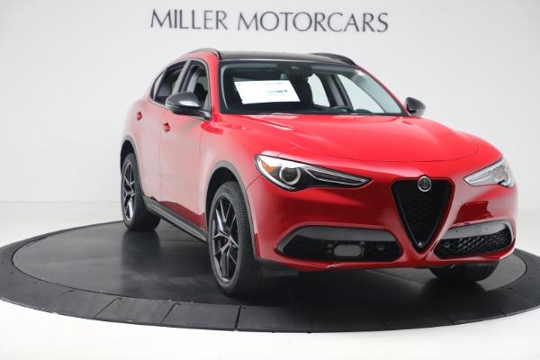 New 2020 Alfa Romeo Stelvio Q4 for sale $49,240 at Alfa Romeo of Westport in Westport CT 06880 11