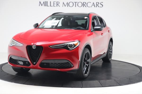 New 2020 Alfa Romeo Stelvio Q4 for sale $49,240 at Alfa Romeo of Westport in Westport CT 06880 1