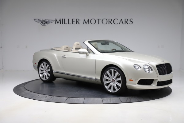 Used 2015 Bentley Continental GTC V8 for sale $109,900 at Alfa Romeo of Westport in Westport CT 06880 10