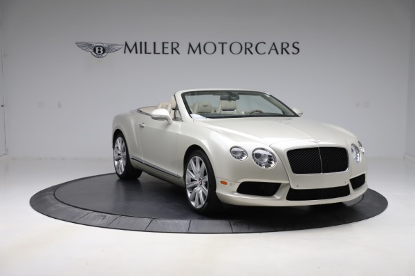 Used 2015 Bentley Continental GTC V8 for sale $109,900 at Alfa Romeo of Westport in Westport CT 06880 11