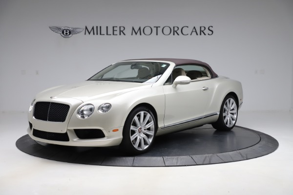 Used 2015 Bentley Continental GTC V8 for sale $109,900 at Alfa Romeo of Westport in Westport CT 06880 13