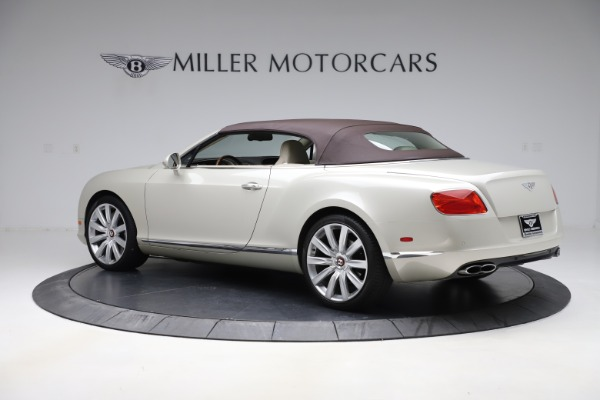 Used 2015 Bentley Continental GTC V8 for sale $109,900 at Alfa Romeo of Westport in Westport CT 06880 15
