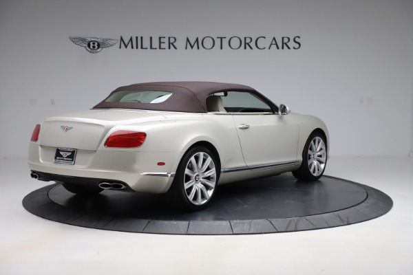Used 2015 Bentley Continental GTC V8 for sale $109,900 at Alfa Romeo of Westport in Westport CT 06880 16