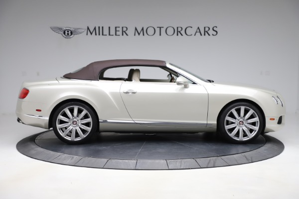 Used 2015 Bentley Continental GTC V8 for sale $109,900 at Alfa Romeo of Westport in Westport CT 06880 17