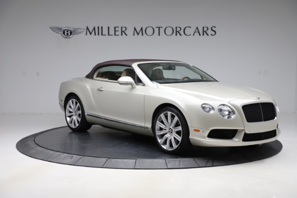 Used 2015 Bentley Continental GTC V8 for sale $109,900 at Alfa Romeo of Westport in Westport CT 06880 18