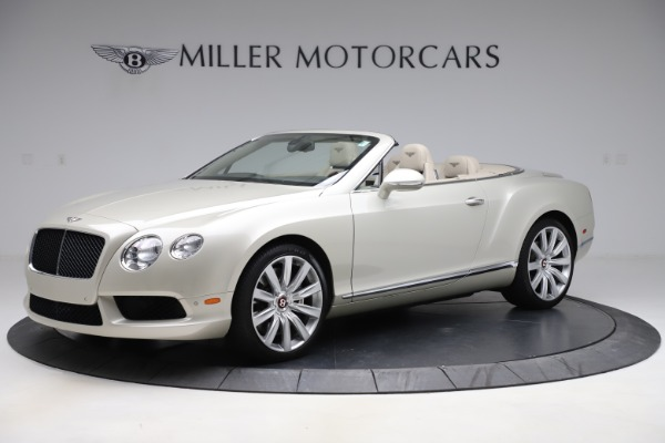 Used 2015 Bentley Continental GTC V8 for sale $109,900 at Alfa Romeo of Westport in Westport CT 06880 2
