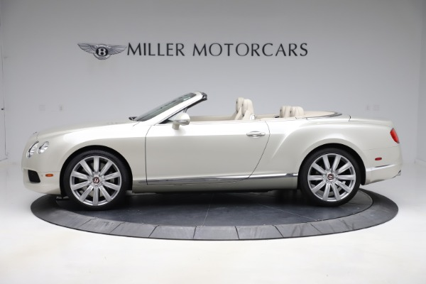 Used 2015 Bentley Continental GTC V8 for sale $109,900 at Alfa Romeo of Westport in Westport CT 06880 3
