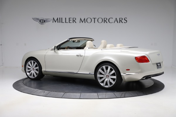 Used 2015 Bentley Continental GTC V8 for sale $109,900 at Alfa Romeo of Westport in Westport CT 06880 4