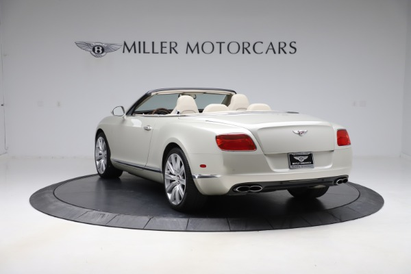 Used 2015 Bentley Continental GTC V8 for sale $109,900 at Alfa Romeo of Westport in Westport CT 06880 5