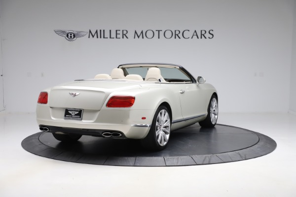 Used 2015 Bentley Continental GTC V8 for sale $109,900 at Alfa Romeo of Westport in Westport CT 06880 7