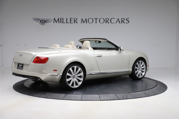 Used 2015 Bentley Continental GTC V8 for sale $109,900 at Alfa Romeo of Westport in Westport CT 06880 8