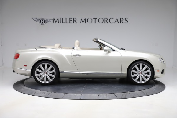 Used 2015 Bentley Continental GTC V8 for sale $109,900 at Alfa Romeo of Westport in Westport CT 06880 9