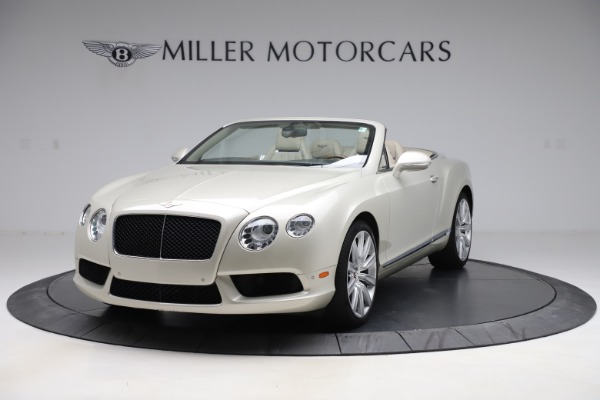 Used 2015 Bentley Continental GTC V8 for sale $109,900 at Alfa Romeo of Westport in Westport CT 06880 1