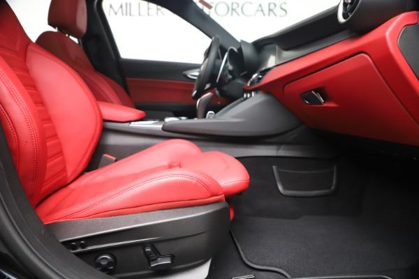 New 2020 Alfa Romeo Giulia Ti Sport Q4 for sale $56,440 at Alfa Romeo of Westport in Westport CT 06880 23