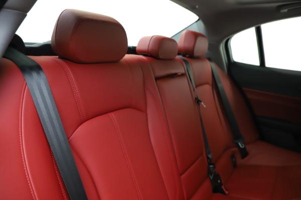 New 2020 Alfa Romeo Giulia Q4 for sale $45,740 at Alfa Romeo of Westport in Westport CT 06880 26
