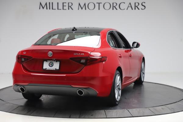 New 2020 Alfa Romeo Giulia Q4 for sale $45,740 at Alfa Romeo of Westport in Westport CT 06880 7