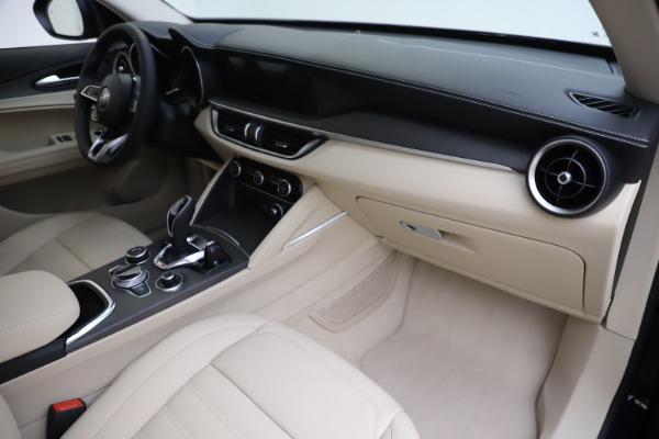 New 2020 Alfa Romeo Stelvio Ti Lusso Q4 for sale $55,790 at Alfa Romeo of Westport in Westport CT 06880 22
