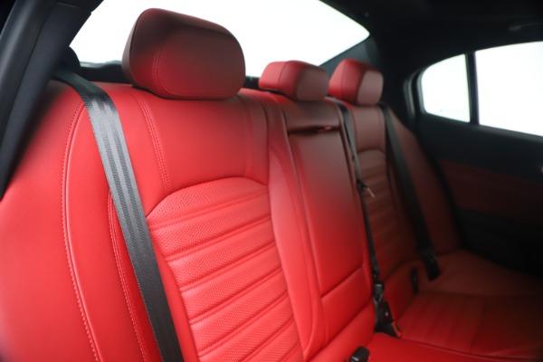 New 2020 Alfa Romeo Giulia Ti Sport Q4 for sale Sold at Alfa Romeo of Westport in Westport CT 06880 26