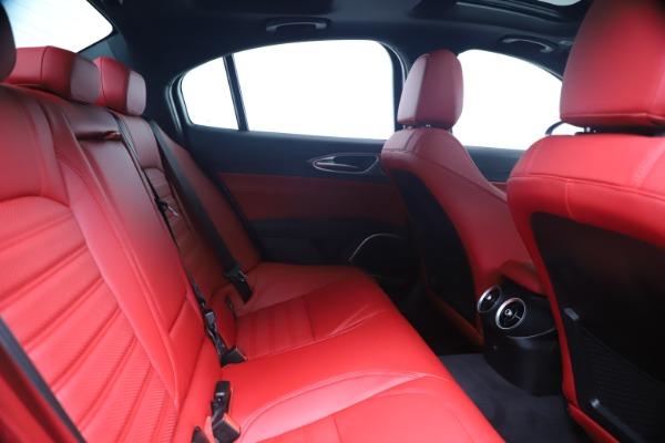 New 2020 Alfa Romeo Giulia Ti Sport Q4 for sale Sold at Alfa Romeo of Westport in Westport CT 06880 27