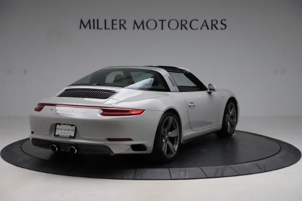 Used 2018 Porsche 911 Targa 4S for sale $134,900 at Alfa Romeo of Westport in Westport CT 06880 7