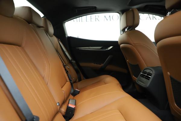 New 2020 Maserati Ghibli S Q4 for sale $79,985 at Alfa Romeo of Westport in Westport CT 06880 27