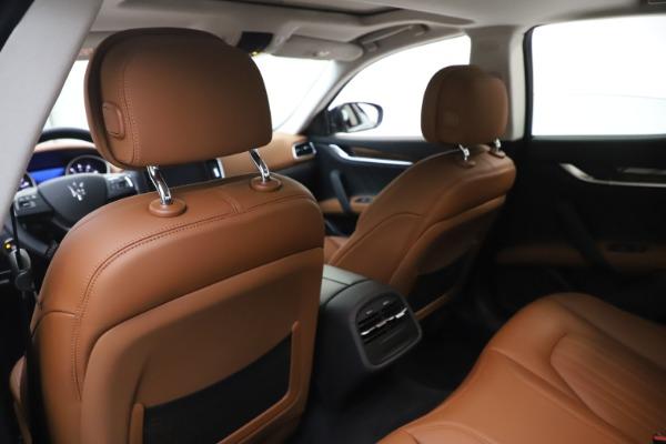 New 2020 Maserati Ghibli S Q4 GranLusso for sale $89,535 at Alfa Romeo of Westport in Westport CT 06880 20
