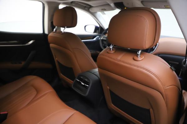 New 2020 Maserati Ghibli S Q4 GranLusso for sale $89,535 at Alfa Romeo of Westport in Westport CT 06880 28
